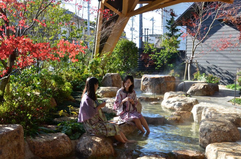 画像:湯田温泉観光回遊拠点施設 狐の足あと